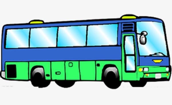 Анимация автобус едет